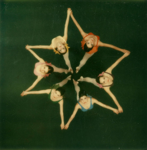 life:  Dancers photographed from above with a Polaroid SX-70 camera, 1972. See more photos here. (Co Rentmeester—Time & Life Pictures/Getty Images)