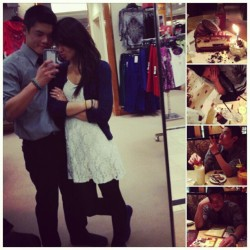 "How we spent the ""end of the world"" and his birthday. <3 #HappyBirthday #US #OOTD #wdywt"