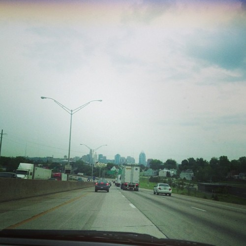 Yeah buddy made it to Cinci!
