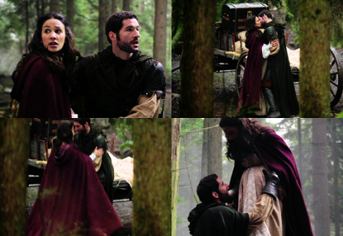 "Robin and Marian; from 2x19 ""Lacey""."