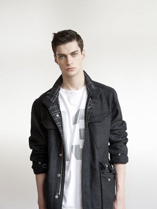 strangeforeignbeauty:  Matthew Bell for U Clothing A/W 2013 [ fave models | 1000+ notes | facebook | twitter ]