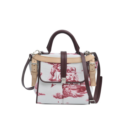 wantering:  Carven Jouly Canvas Satchel