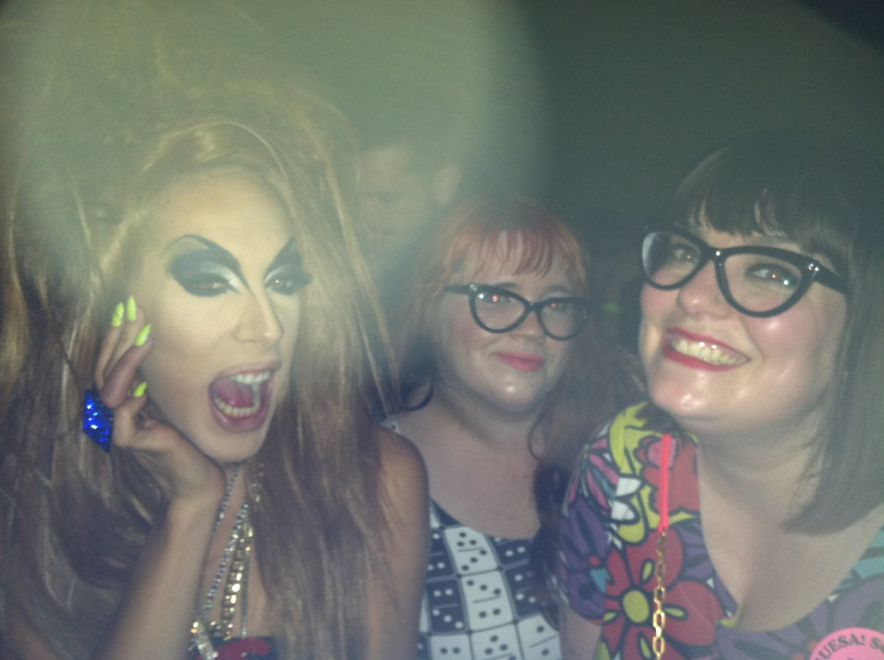 Met Alaska Thunderfuck and saw Jinkx Monsoon perform six songs last night with Nicole. Definitely one of the best things I've ever seen!