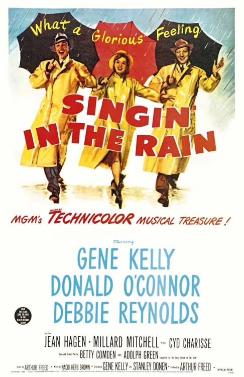 78/2013 Movie List 211. Singin' In The Rain (1952) A silent film production company and cast make a difficult transition to sound.   Directors:  Stanley Donen, Gene Kelly  Writers:  Adolph Green (story), Betty Comden (story), 2 more credits »  Stars:  Gene Kelly, Donald O'Connor, Debbie Reynolds | See full cast and crew