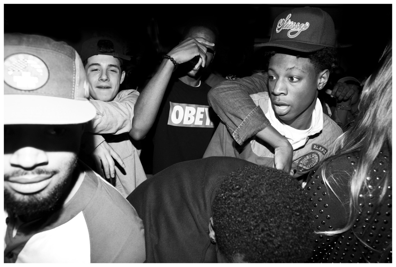 photothuglife:  Joey BADA$$ and Kwon's 18th birthday party
