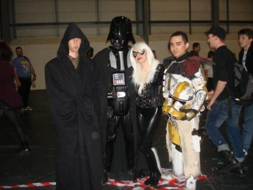 30 DAY COSPLAY CHALLENGE! 1. Your first cosplay.CC Bly - Star WarsFirst con, first cosplay, and first time met my BFF Ragemore :) was a good day.