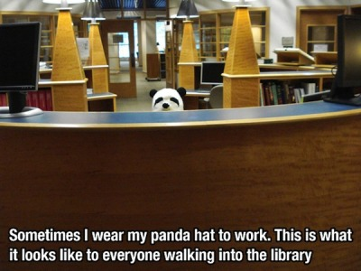 love a librarian with a sense of humor!