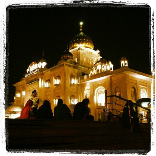 Guru Ghar… (at Bangla Sahib Gurudwara)