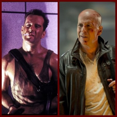 From 1988-2013 the Die Hard series is one of my favorites as well as Bruce Willis being one of my all time favorite actors.