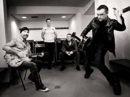 U2. Photo by Sam Jones.