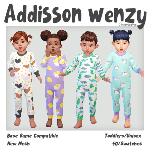 pixelunivairse:Download.Enjoy!!!Please let me know if you encounter any problems with my cc. #ts4cc#toddler#toddleroutfit