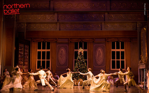 A scene from Northern Ballet's production of The Nutcracker. Photo Bill Cooper.