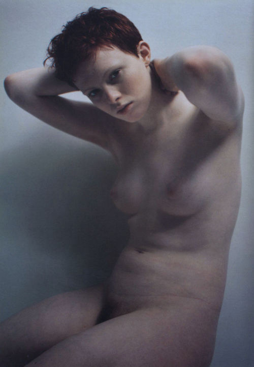 thedoppelganger:  Magazine: Joe's No. 2 November 1998Photographer: Mario SorrentiModel: Karen Elson
