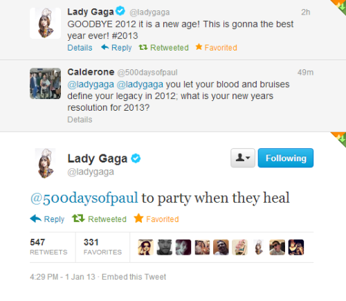 This is beyond perfect, FUCK. Now New Year is here, ARTPOP feels real, going crazy right now.
