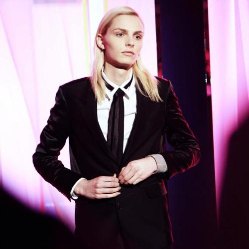 andrejpejicpage:  Andrej Pejic for Jean Paul Gaultier F/W 2013-14 Paris Men's Fashion Week:http://www.facebook.com/NEO2.magazine
