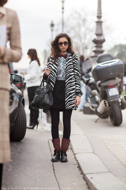 thelittlefashionbox:  clashing patterns done right