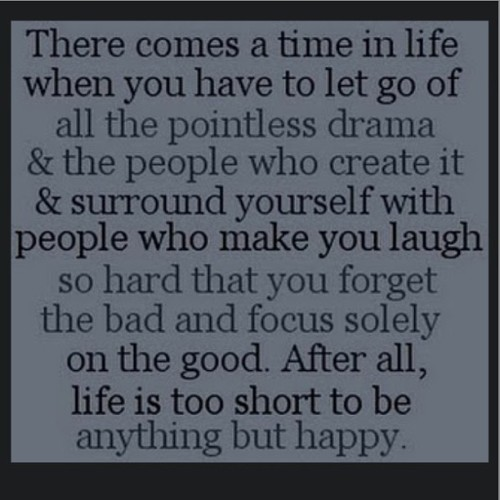 Life is short. Live it.