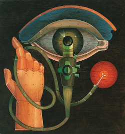 """Hand and Eye"" (1974) by MewDeep on Flickr."