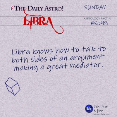 Libra 5098: Visit The Daily Astro for more Libra facts.