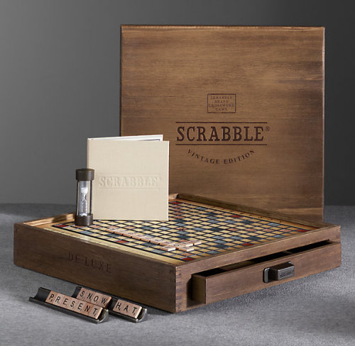 amandaonwriting:  Vintage Edition Scrabble