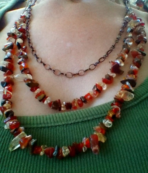 torhalla58etc Jewelry Citrine Carnelian Tiger Eye Necklace Etsy