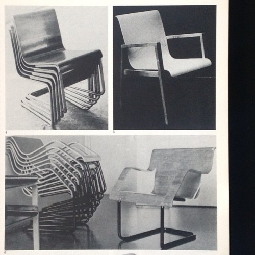 #AlvarAalto #prototypes #chairs #artek #architecture #modern http://on.fb.me/18CZSL0