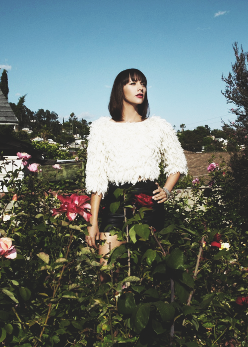 Rashida Jones for BUST (August/September 2010)