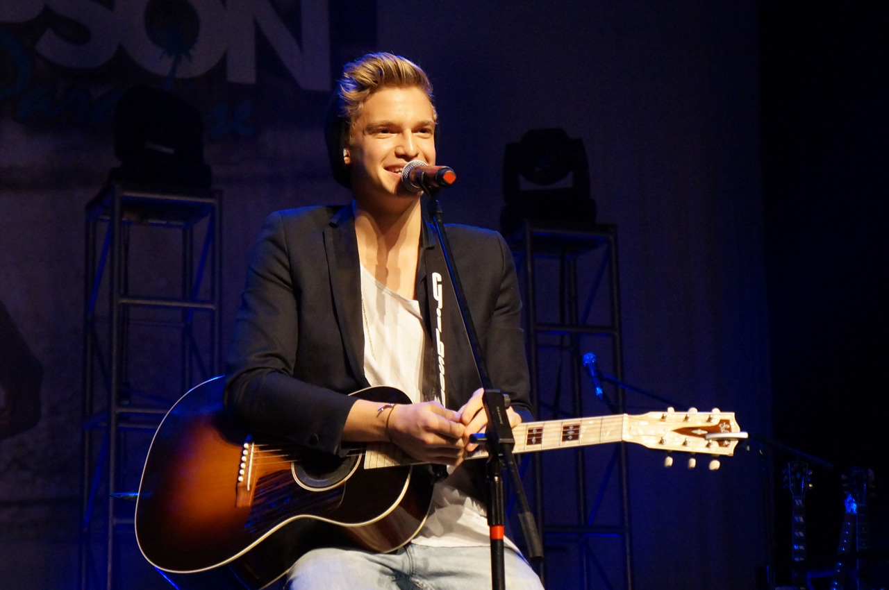 Cody Simpson. Manchester sound check party.   Mine. Credit me please.