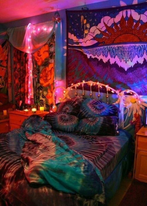 Boys Neon Bedroom