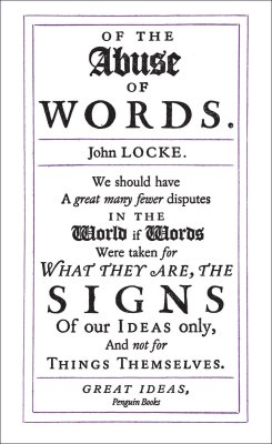 Of the Abuse of Words by John Locke