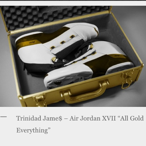 trinidadjames:  I actually would  like these if I wasnt T Jame$. Easily camp 2 days. Maybe 3 if my homie with me @jdotross