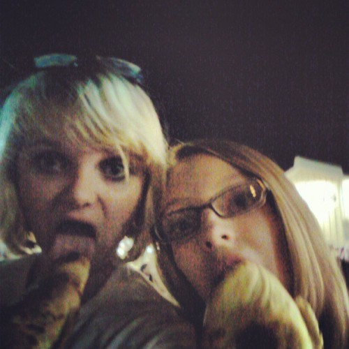 Day 19: best friends @collxxnbxll LOL pizza on a stick…