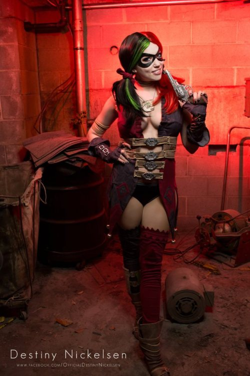 Destiny Nickelsen as Injustice Harley Quinn