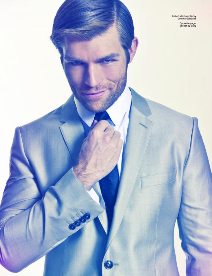 Liam McIntyre by Mitchell Nguyen McCormack for DAMAN