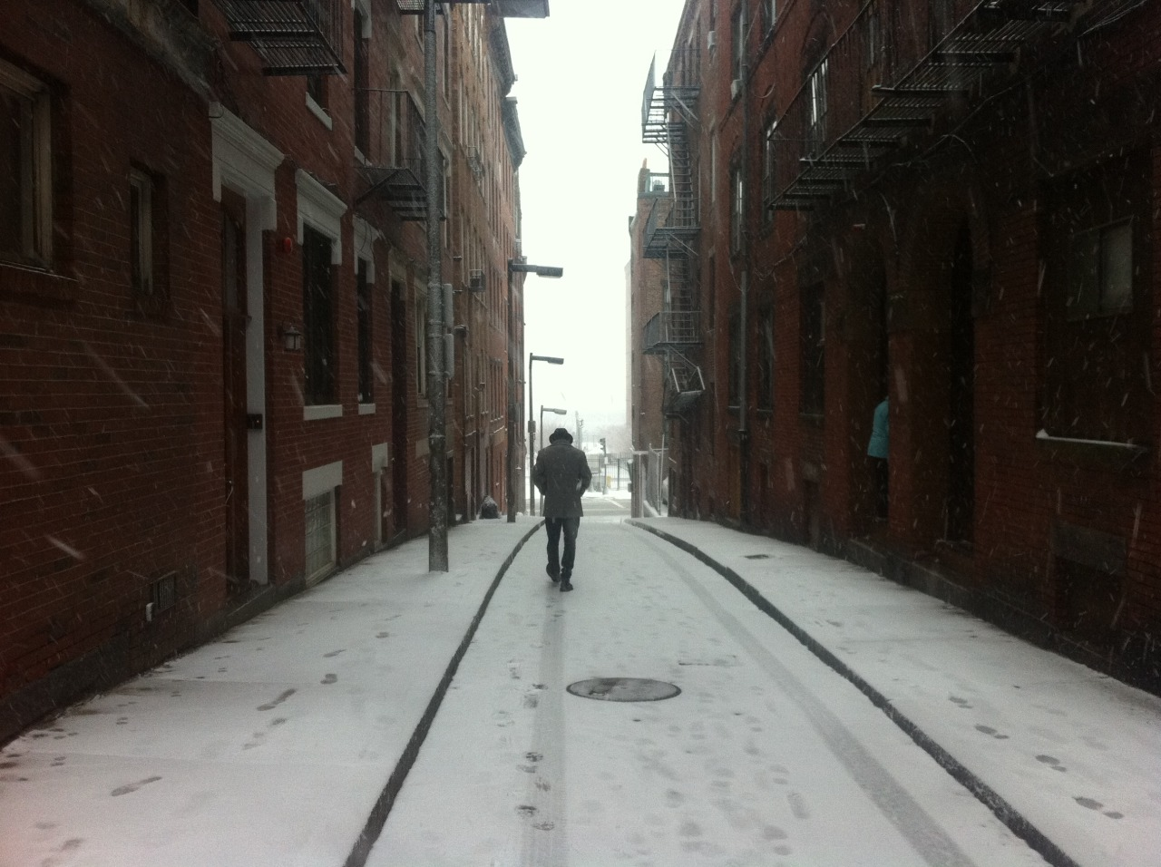 North End, Boston, reverse Bob Dylan
