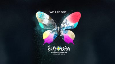 The official theme art for this year's Eurovision SONG CONTEST in Malmö, Sweden. Credits: SVT