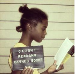 picadorbookroom:  In honor of Children's Book Week, here's a photo of an awesome kid.