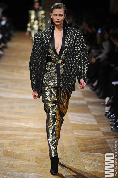 womensweardaily:   Balmain RTW Fall 2013  She's always got the look.
