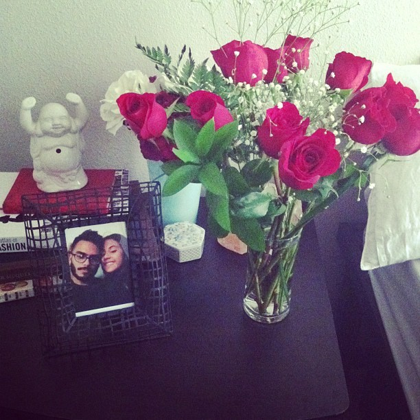 I am forever grateful for @enrique_f. Thank you so much for the best Valentine's Day ever! I loved all the surprises… I love you so much! 😍💏👫💑❤