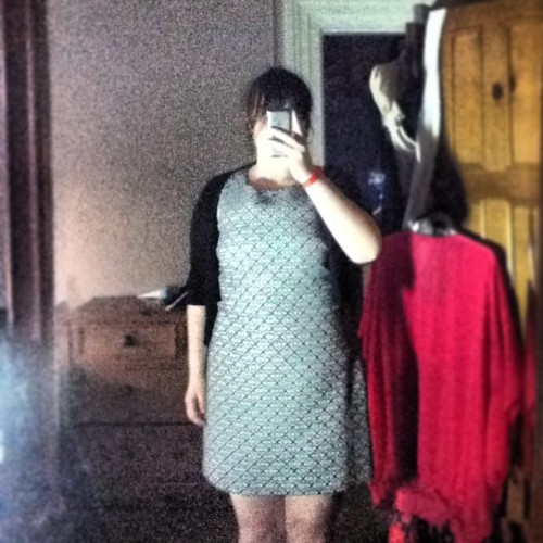 Graduating tomorrow. It's been almost a year since I wore a dress going out :|
