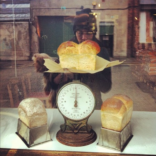 #reflection (at Baltic Bakehouse)