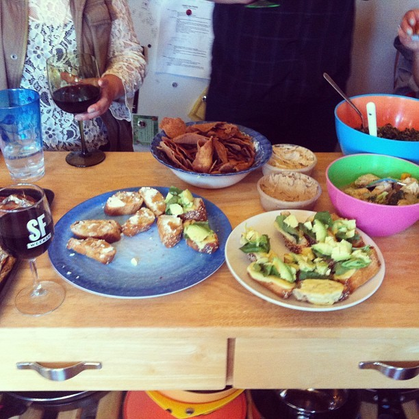 Another delicious #innerfunset feast http://bit.ly/15Auttd