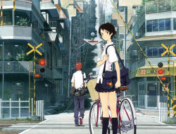 arrazolaguillermo:  Toki wo Kakeru Shōjo The girl who leapt through time