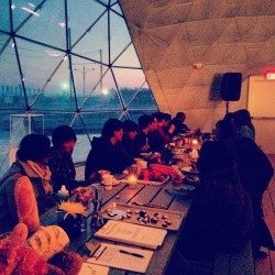 this is it. #shoresoup magic in #rockaway (at MoMA PS1's VW Dome 2)