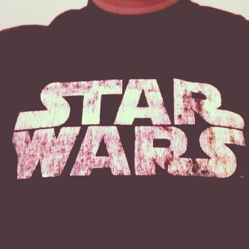 #StarWars #Tshirt  Using 1977 filter, of course!