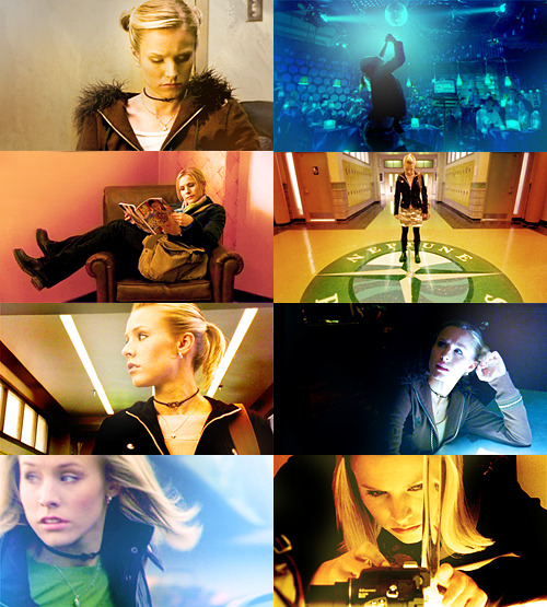 """And I'll be over here chillin' like a villain"". Veronica Mars 1.12 Clash of the Tritons"