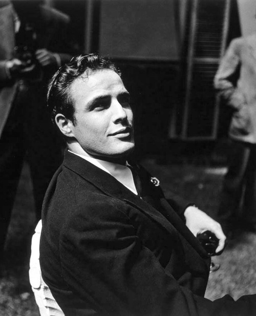 jettrinks:  Marlon Brando photographed by Walter Carone, 1949.