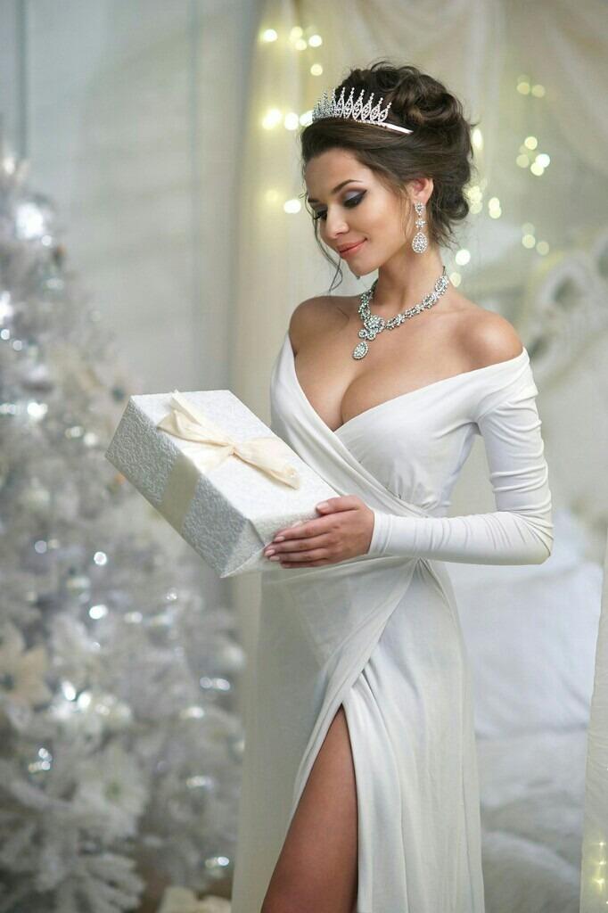 "gardenofelegance: ""Garden of Eleganceಌ "" Beautiful white Christmas"