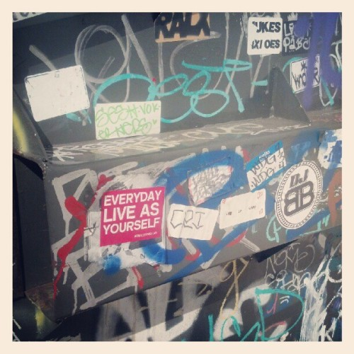 #EverydayLiveAsYourself #ELAY #GraffDumpster #LALife