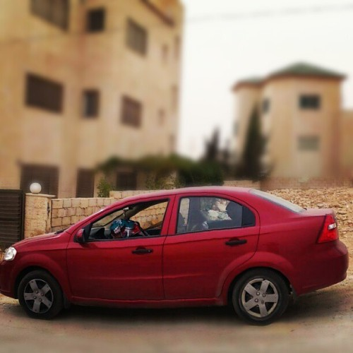 You're always be missed R.I.P My beloved care <3 #car #red #red_car #accident #RIP #love #lovely #missed #hreatbroken